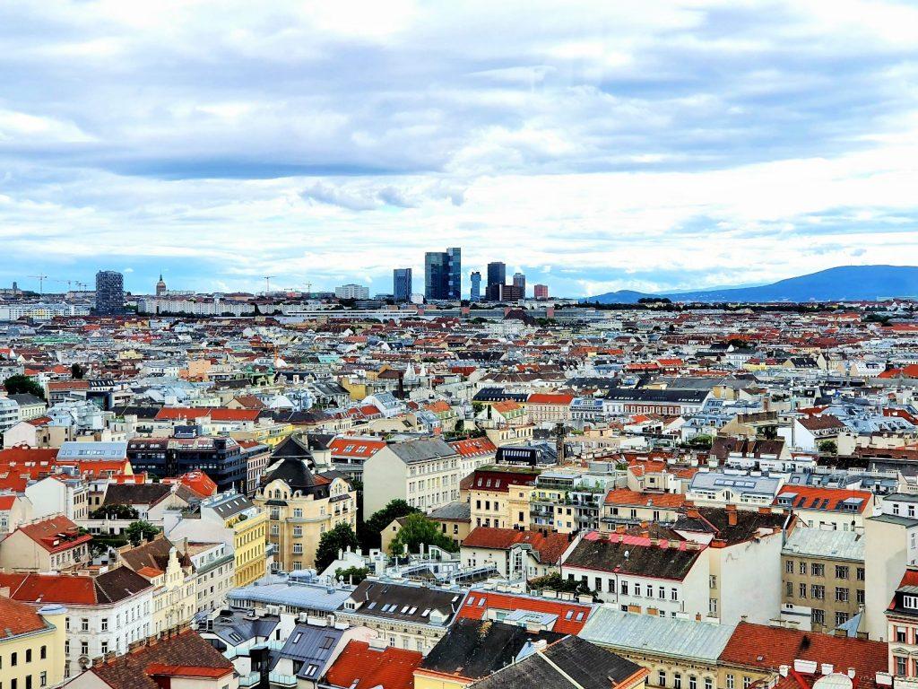 Rooftop Locations Wien Ausblick von oben