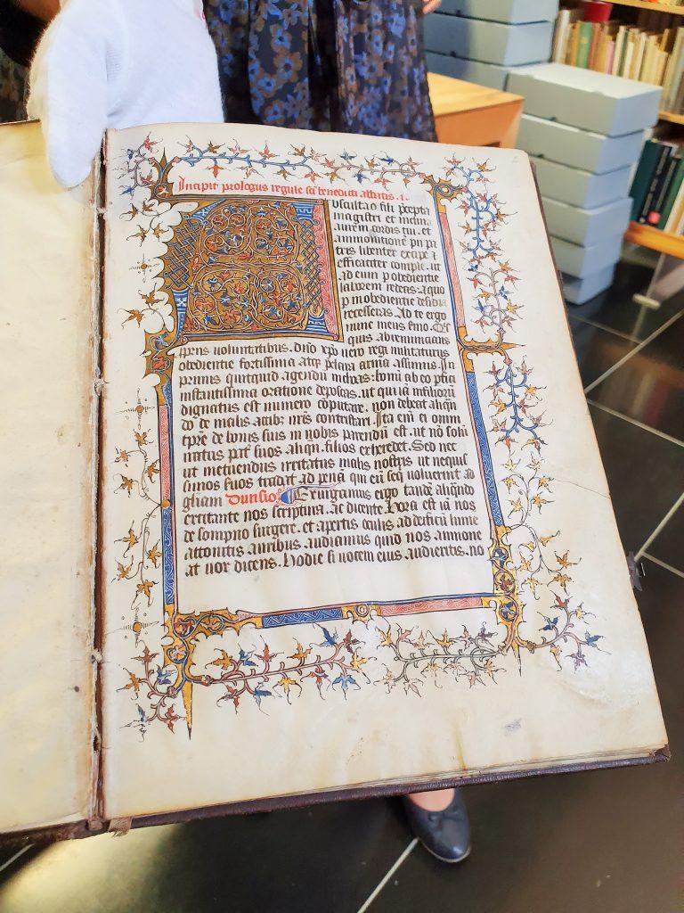 antikes Buch aus Bibliothek