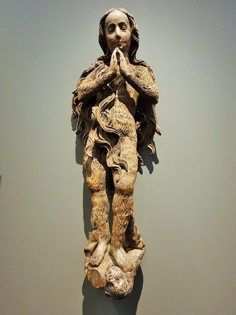 gotische Skulptur Hl. Magdalena