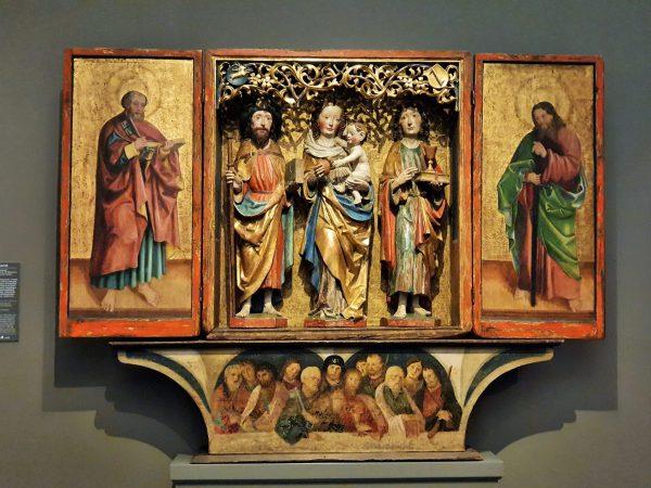 Gotik Museum Admont Tryptichon