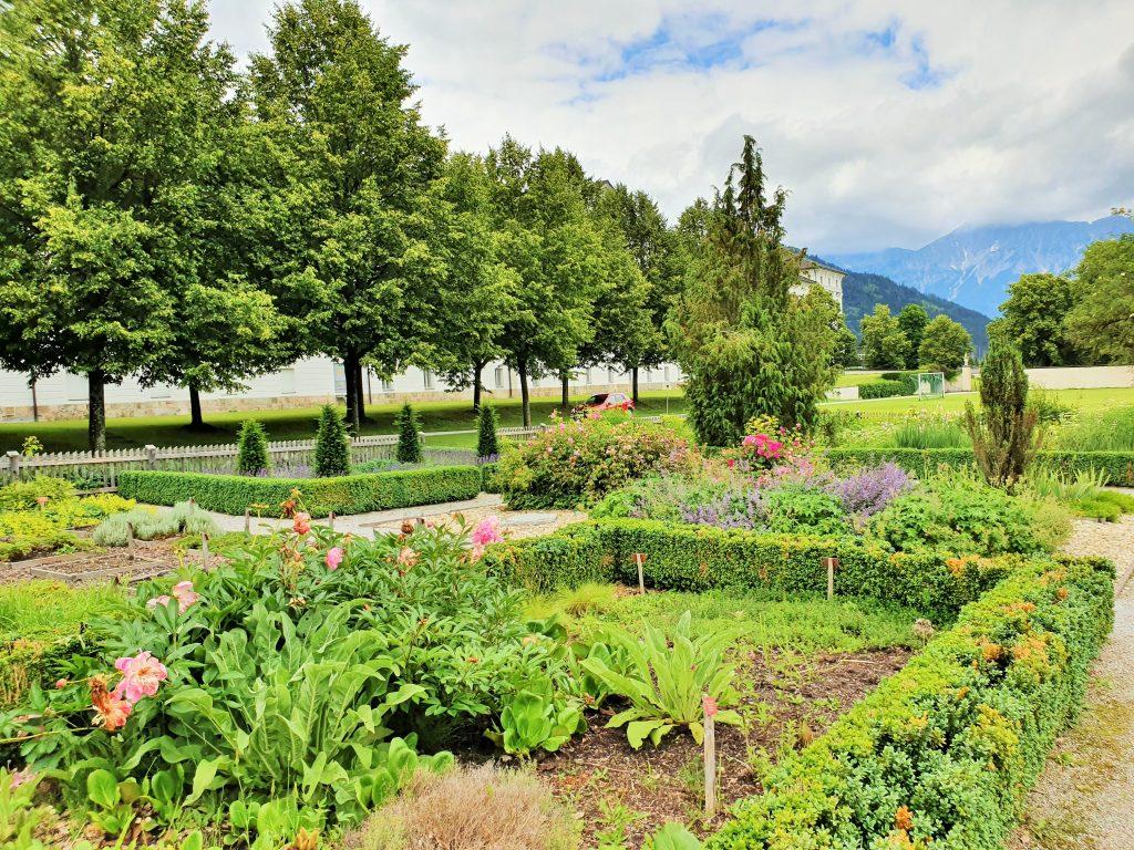 Stift Admont Führung durch den Klostergarten