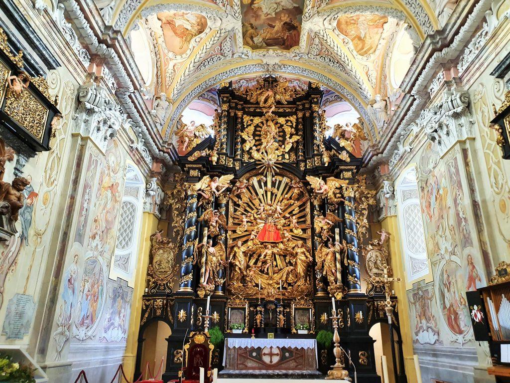 Marien-Altar in Wallfahrtskirche Frauenberg Steiermark