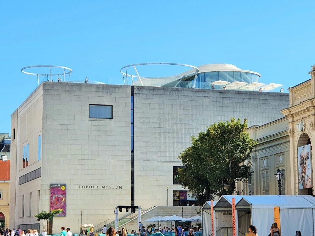 Rooftop Location Wien auf dem Leopold Museum