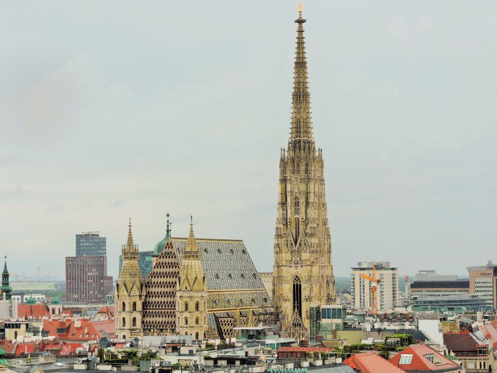 Rooftop Locations Wien, Ausblick auf den Stephansdom von oben