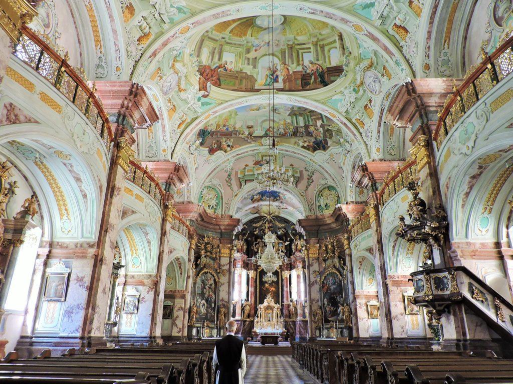Stift Rein Stiftskirche mit Fresken