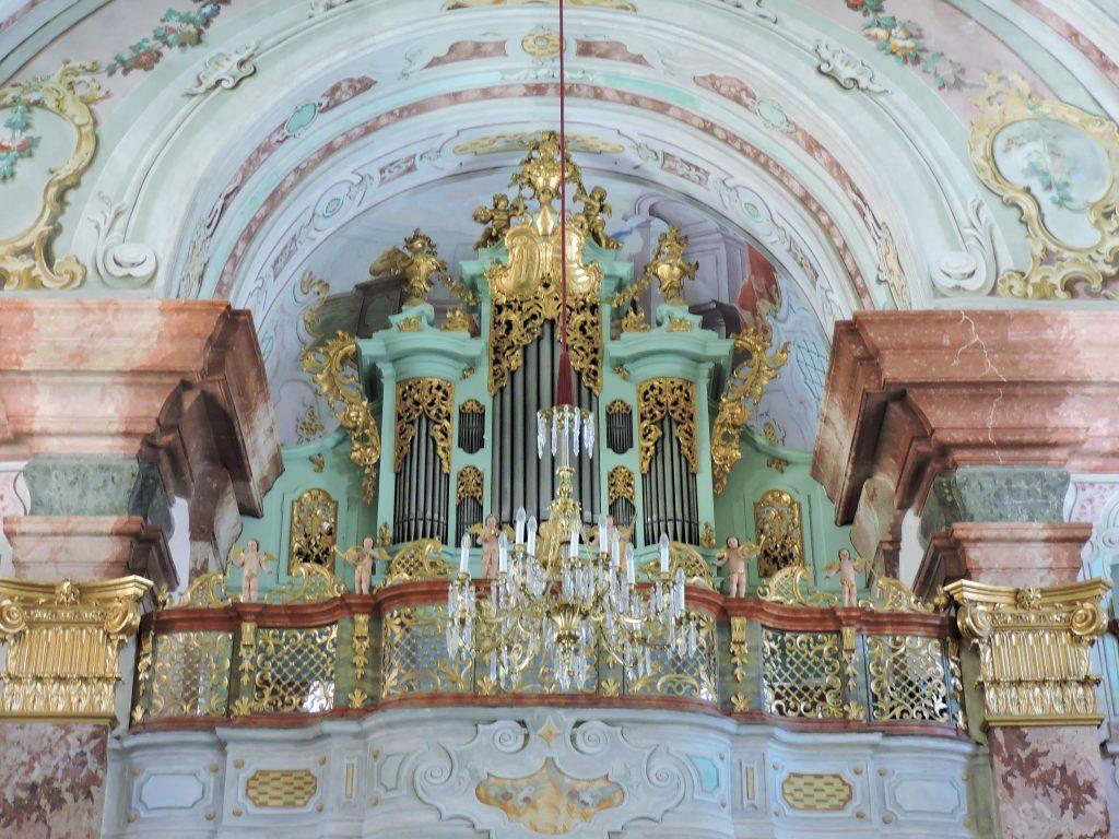 Sitft Rein Sehenswürdigkeiten, barocker Mönchschor