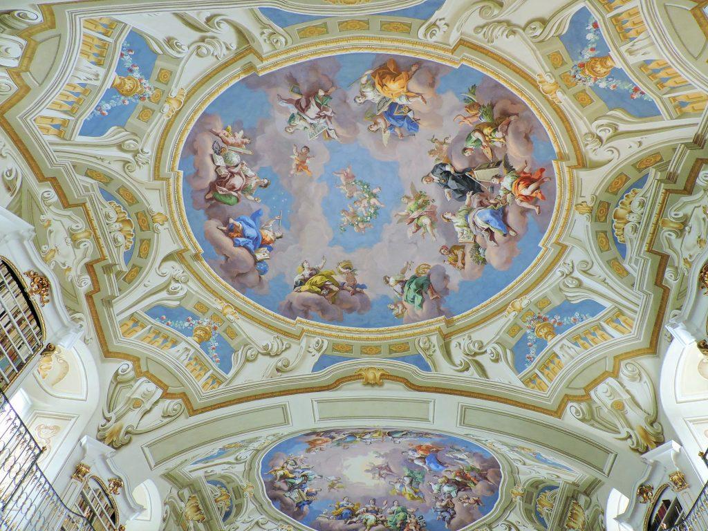 prachtvolle barocke Deckenfresken