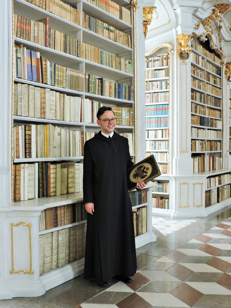 Stift Admont Führung mit Prior Maximilian