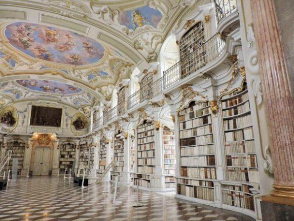 Stift Admont Führung Bibliothek