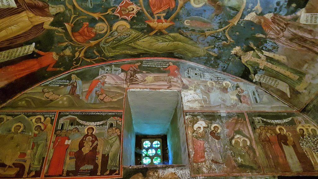 Fresken im Batschkovo Kloster Bulgarien