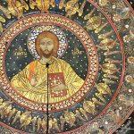 orthodoxe Christus Darstellung, Batschkovo Kloster Kulturschätze