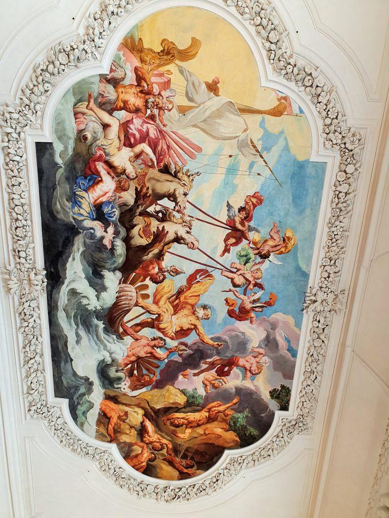 barocke Decken-Fresken, DomQuartier Salzburg Rundgang