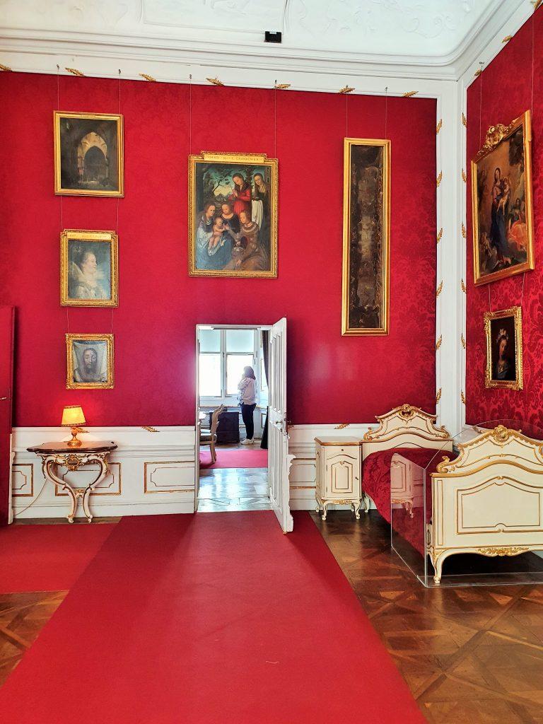 barockes Schlafzimmer, DomQuartier Salzburg Rundgang
