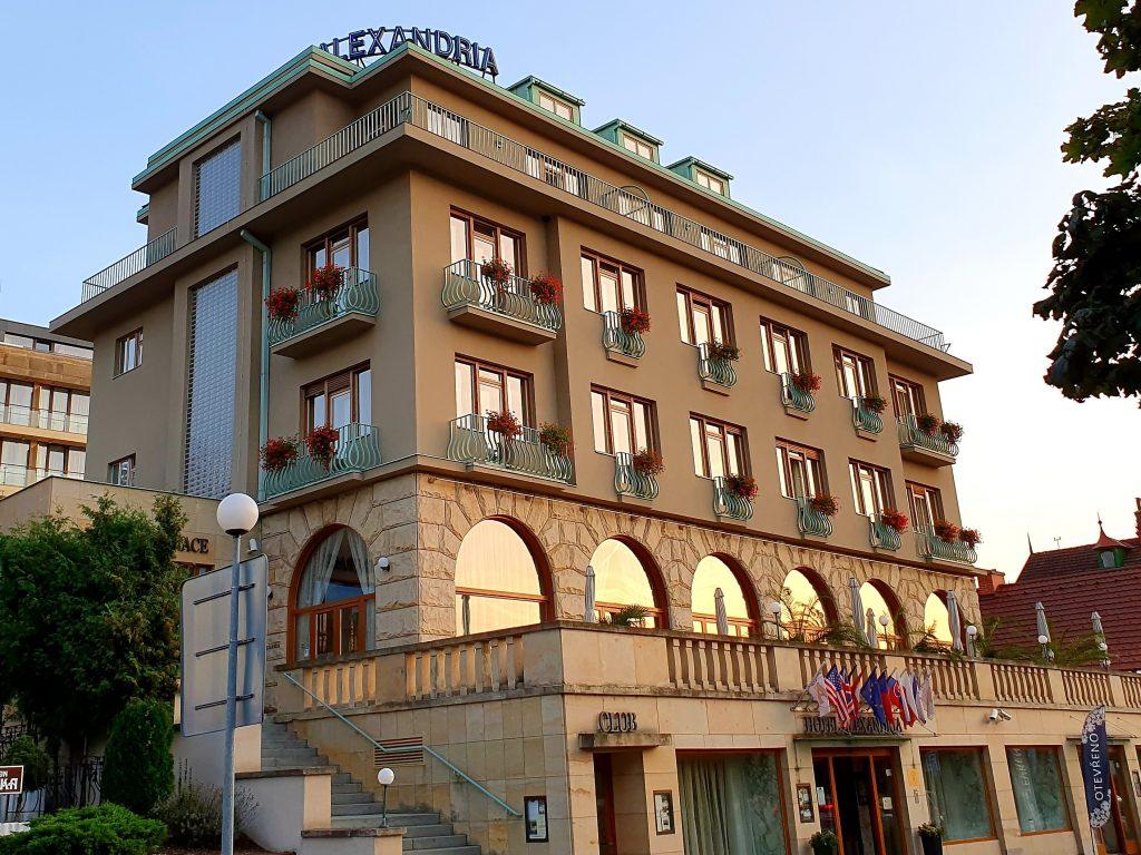 Wellness Hotel Alexandria im Kurbad Luhacovice, Tschechien