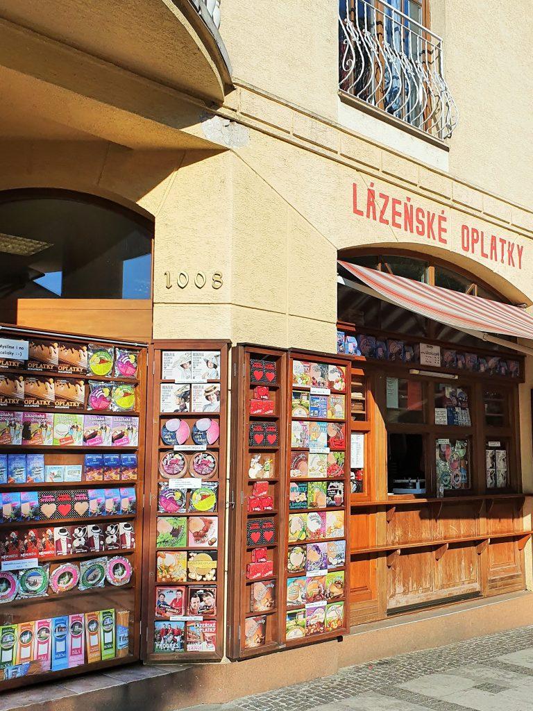 Oblaten Geschäft in Tschechien