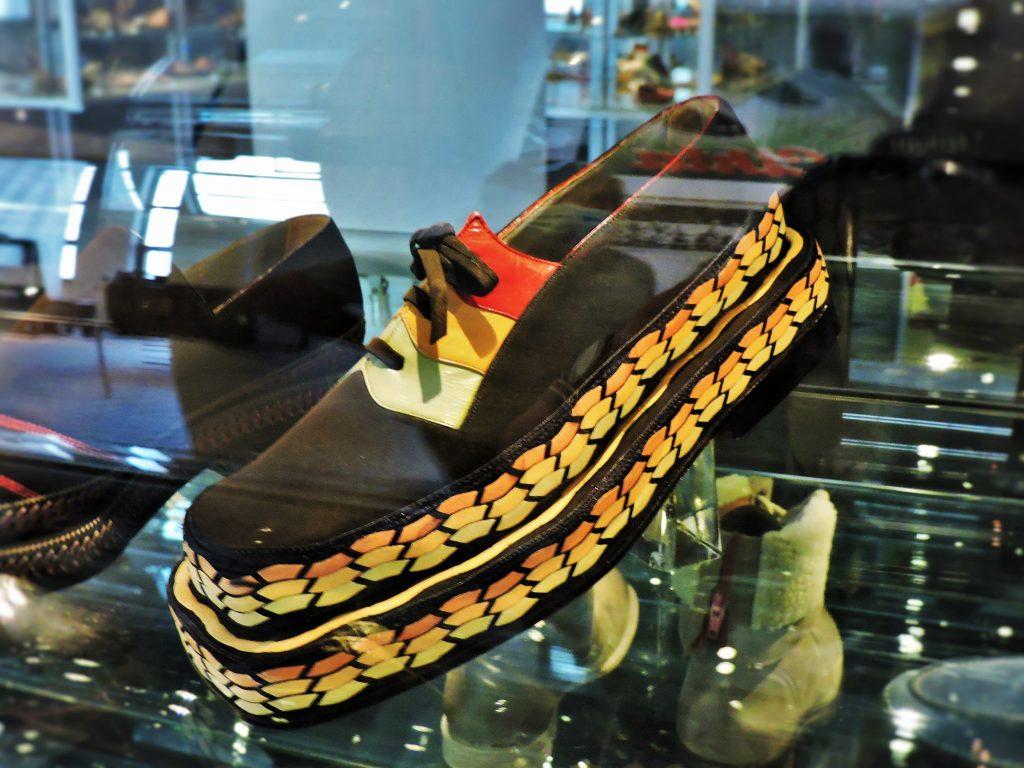 Bata Schuhe im Museum der Stadt Zlin