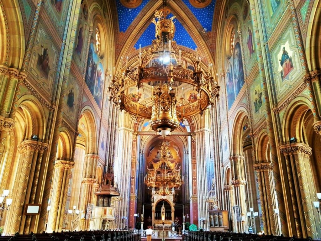 Innenansicht der Altlerchenfelder Kirche Wien