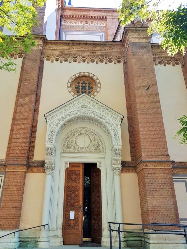 Außenansicht der Altlerchenfelder Kirche Wien