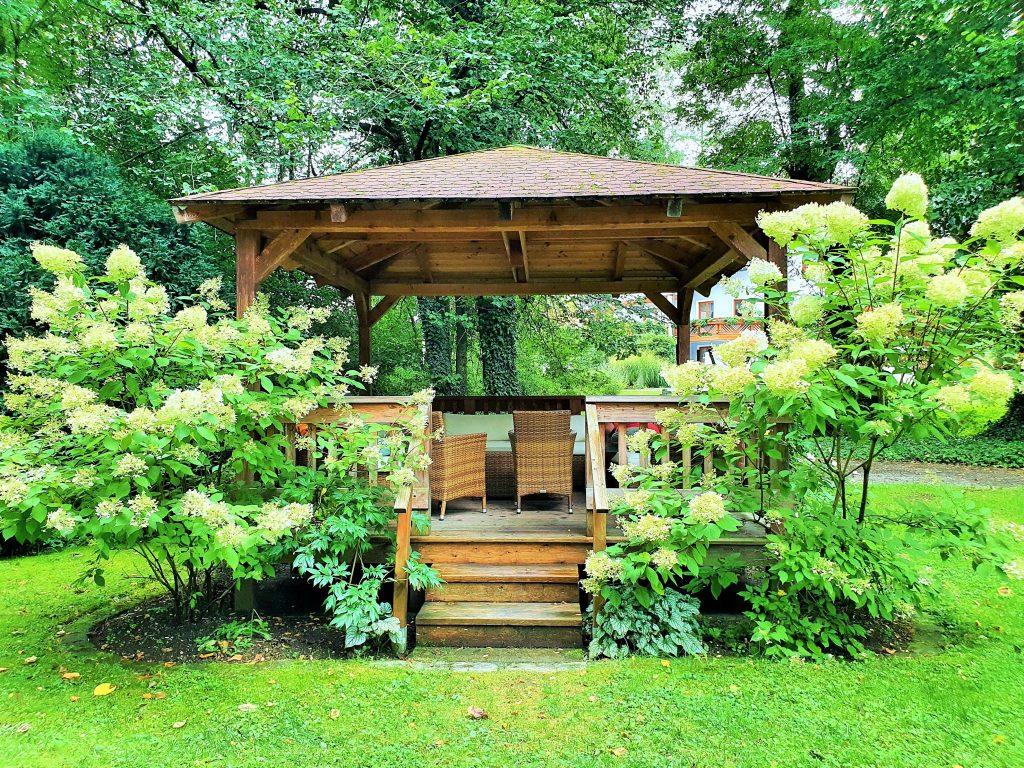 schönes Salettl im Kurpark