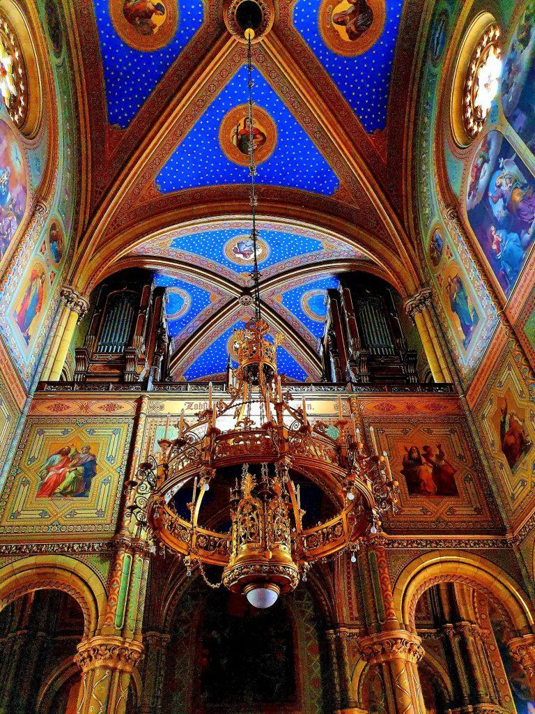 Altlerchenfelder Kirche Wien mit Ornamentik