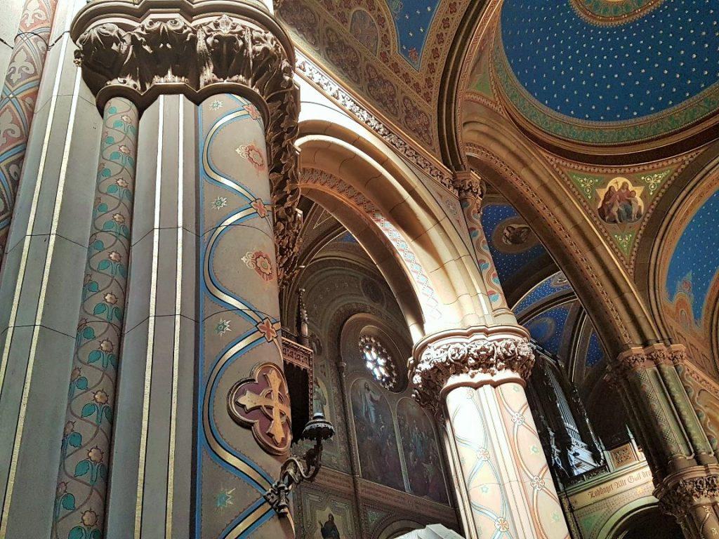 Historismus Architektur in Kirche