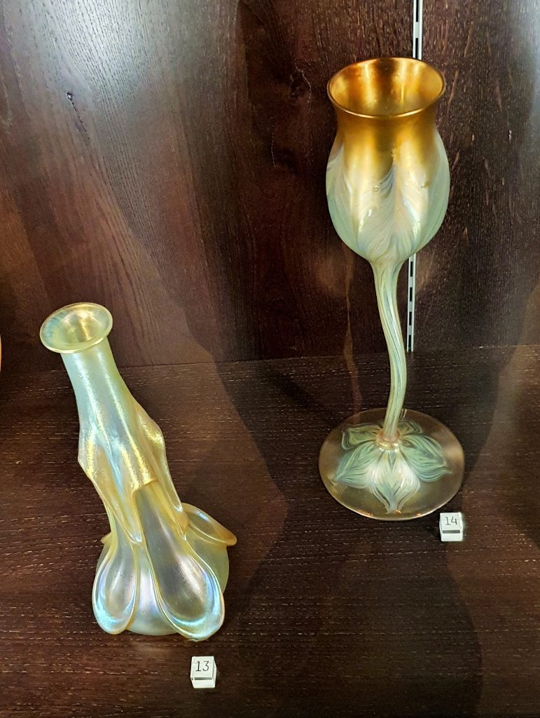 zwei Glas-Vasen