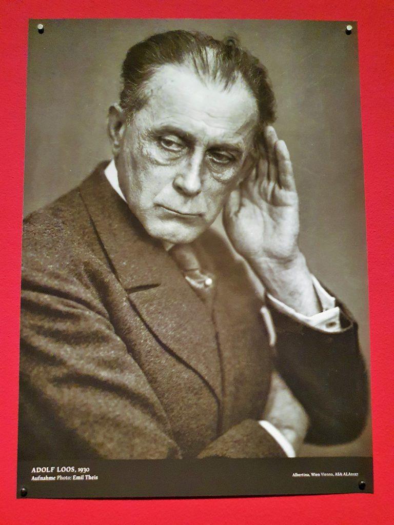 Portrait des Architekten Adolf Loos
