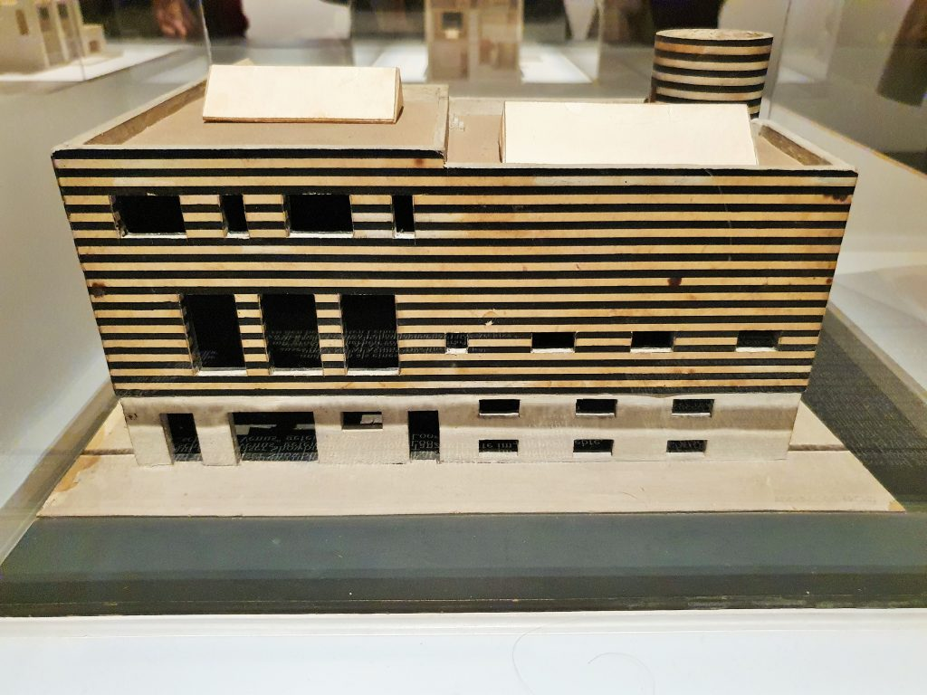 Modell für das Haus von Josephine Baker