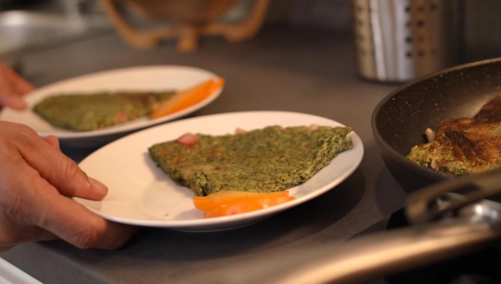 slowenische Spezialität auf dem Teller