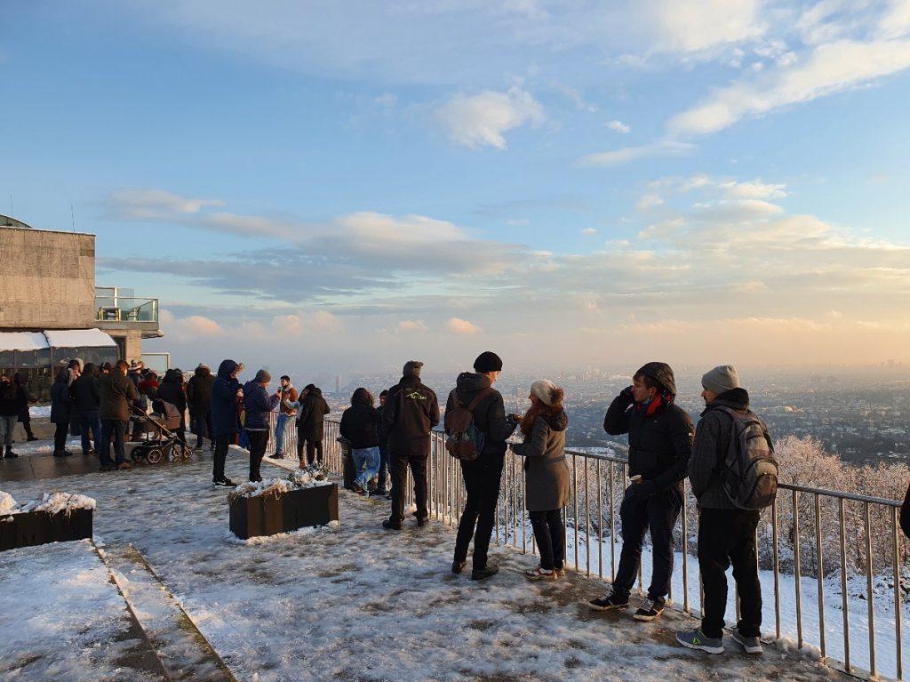 Aussichtsterrasse am Leopoldsberg Wien