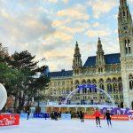 Eislaufen in Wien, Eislaufen am Rathausplatz