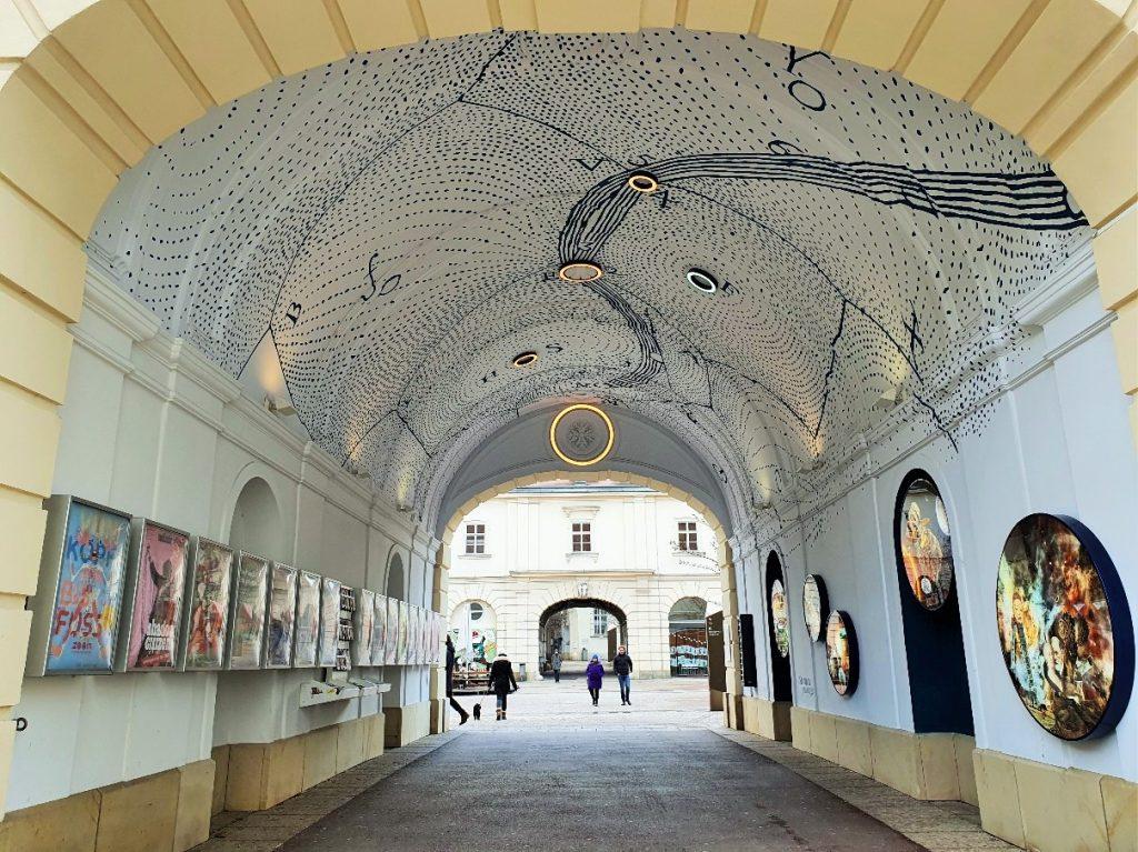 Sternen-Passage im Museumsquartier Wien