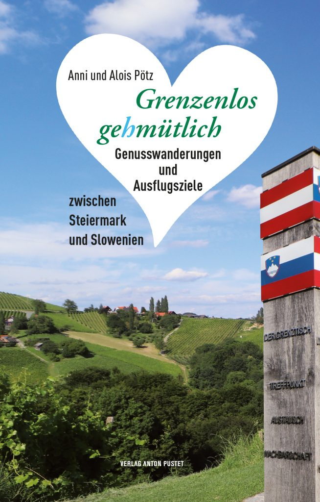 Cover für ein Wander-Buch Slowenien