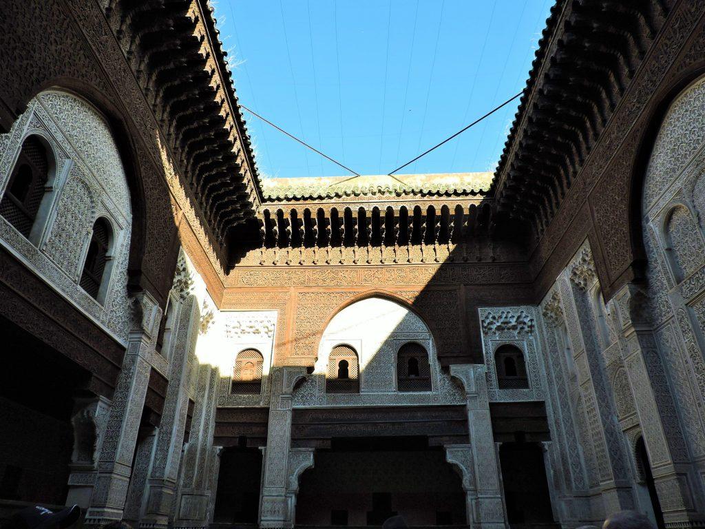 prachtvolles Innenhofgebäude Marokko