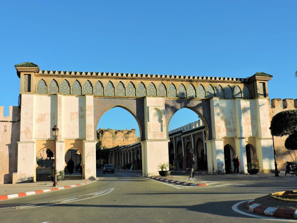 altes Stadttor mit Durchfahrt, Marokko