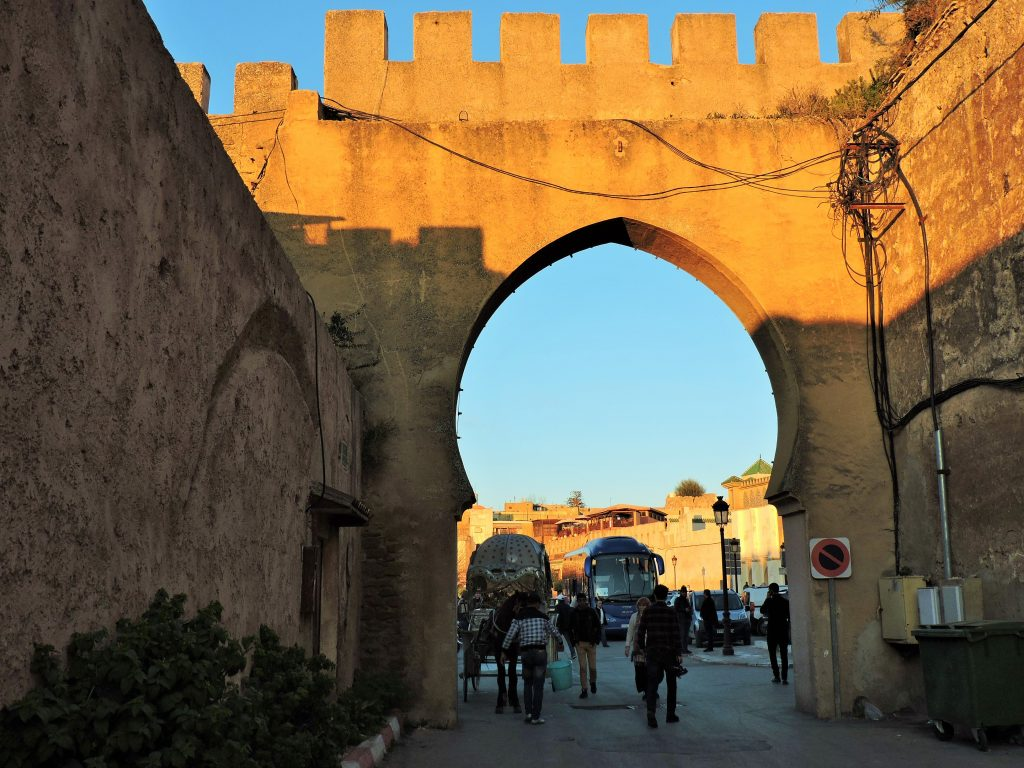 altest Stadttor in Meknes
