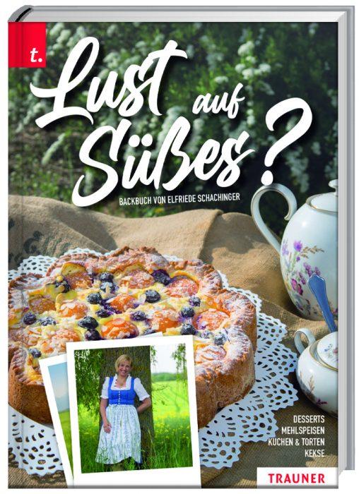 Cover für Kochbuch für Süßes