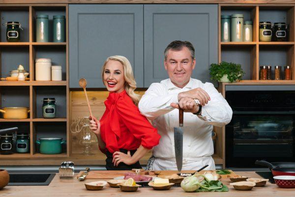 Silvia Schneider und Toni Mörwald kochen gemeinsam