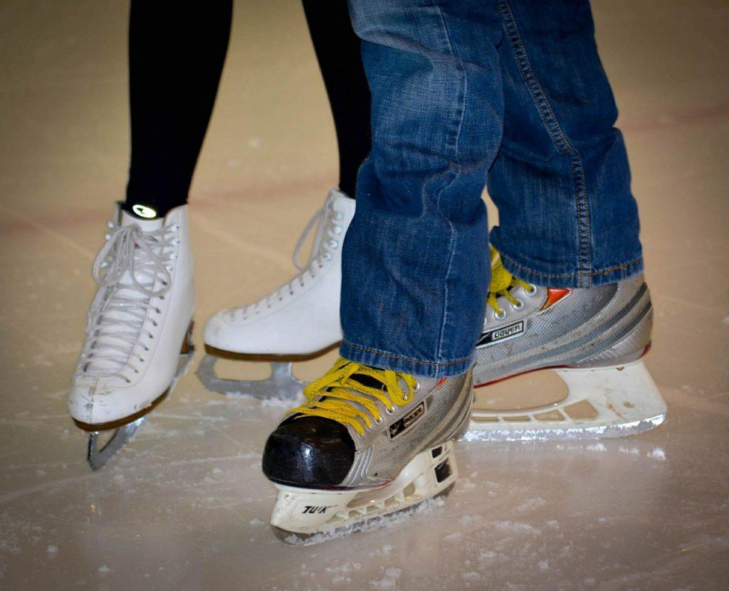 Schlittschuhe, Eislaufen in Wien