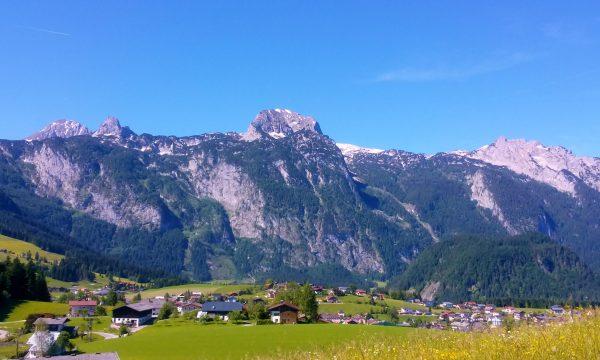 Blick auf Abtenau und Tennengebirge