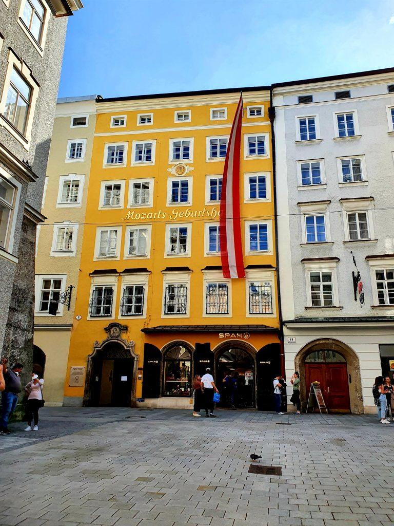 Mozart Geburtshaus in Salzburg