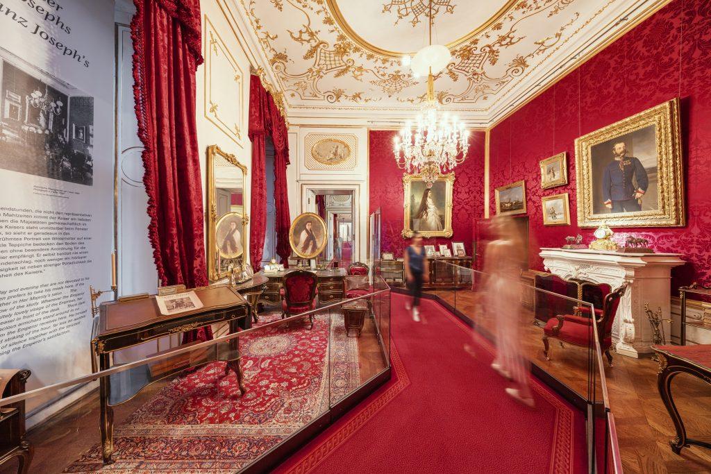 imperialer Raum, Arbeitszimmer Kaiser Franz Joseph