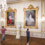 Sisi Museum Rundgang mit Portraits von Franz Joseph u. Elisabeth