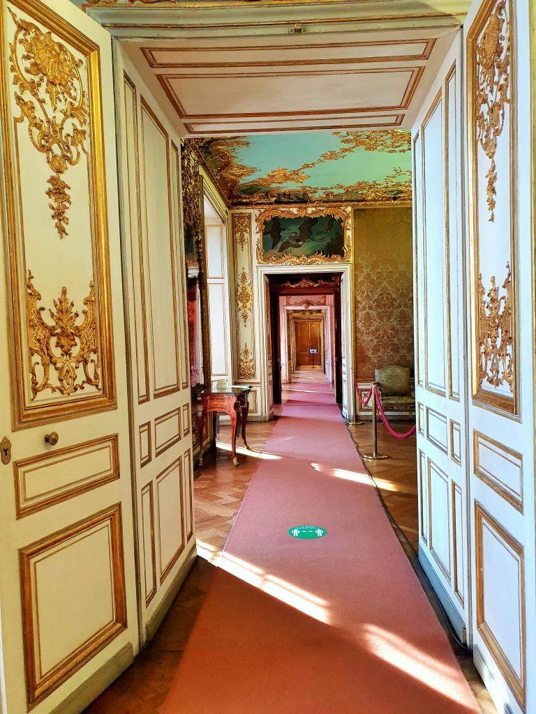 historische Prunkräume im Rokoko Stil