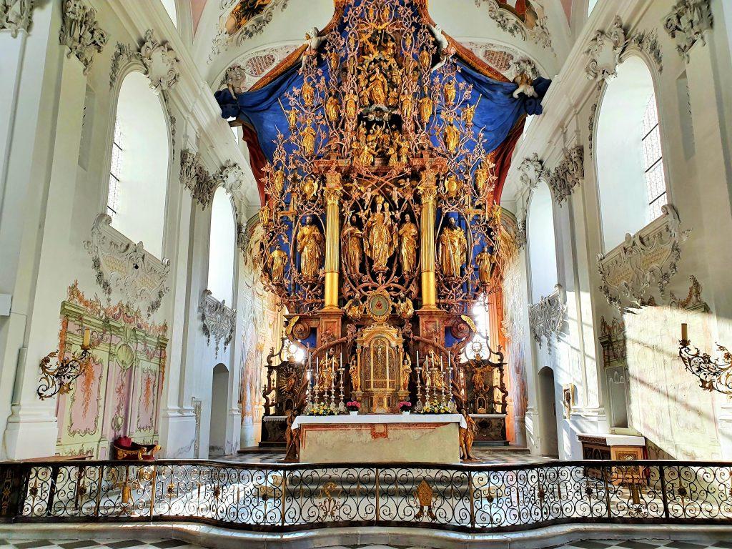 Hochaltar der Basilika Stams
