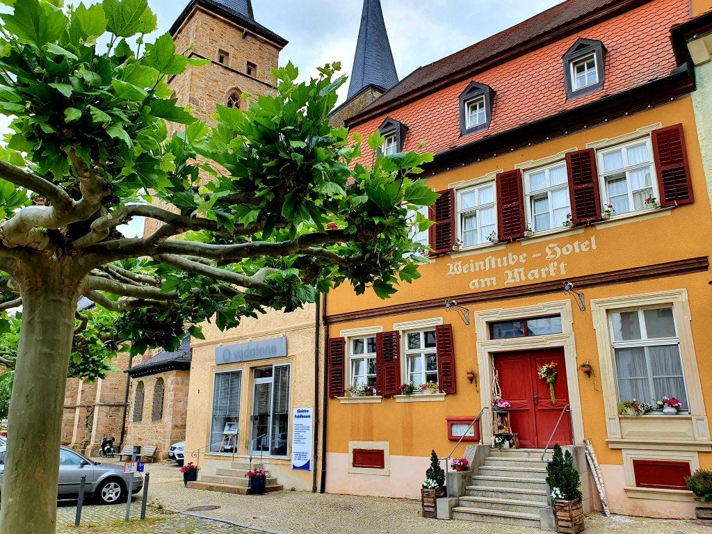historische Altstadt von Gerolzhofen, Franken