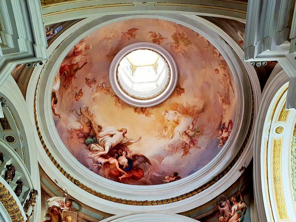 barockes Kuppelgewölbe