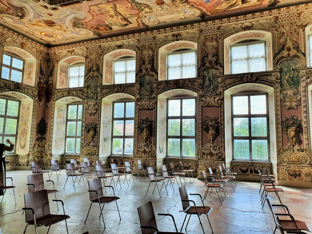 barocker Bernardi-Saal von Stift Stams Tirol