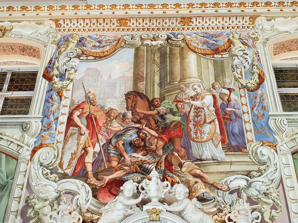 prachtvolle barocke Fresken