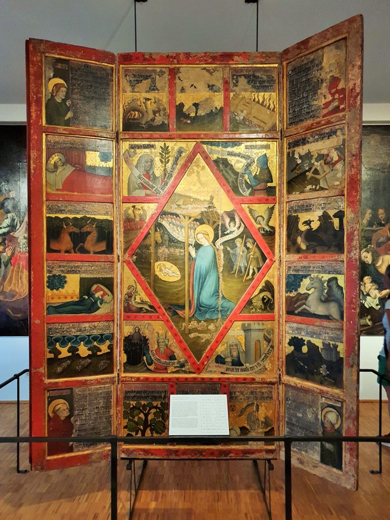 anitkes Tafelbild Museum Stams Tirol